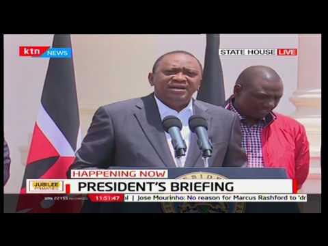 President Uhuru Kenyatta's full briefing on jubilee primaries