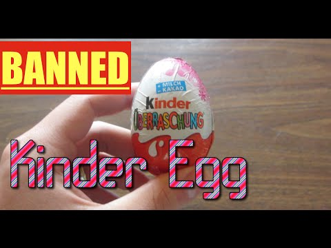Famous Kinder Eggs Banned in U.S.! | Episode 12 | Unboxing ...
