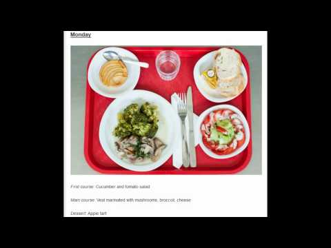 French vs American School Lunch