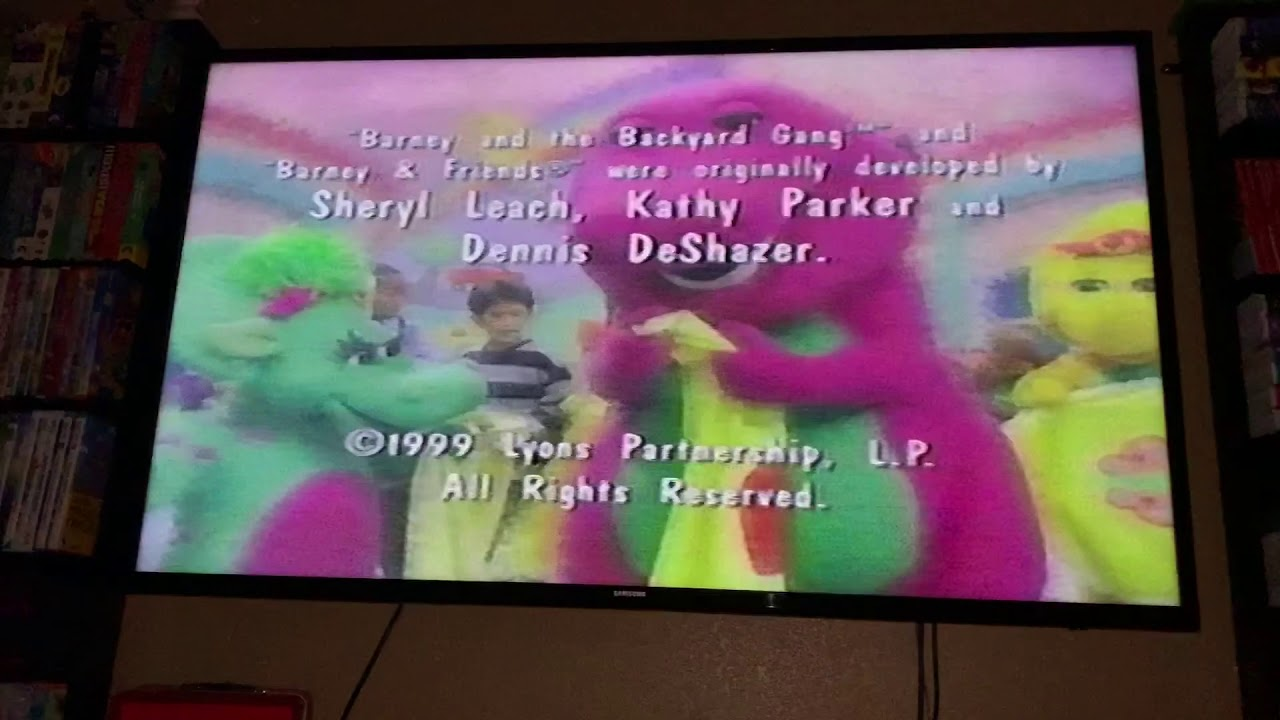 Closing To Barneys Abcs And 123s 2000 Vhs Youtube