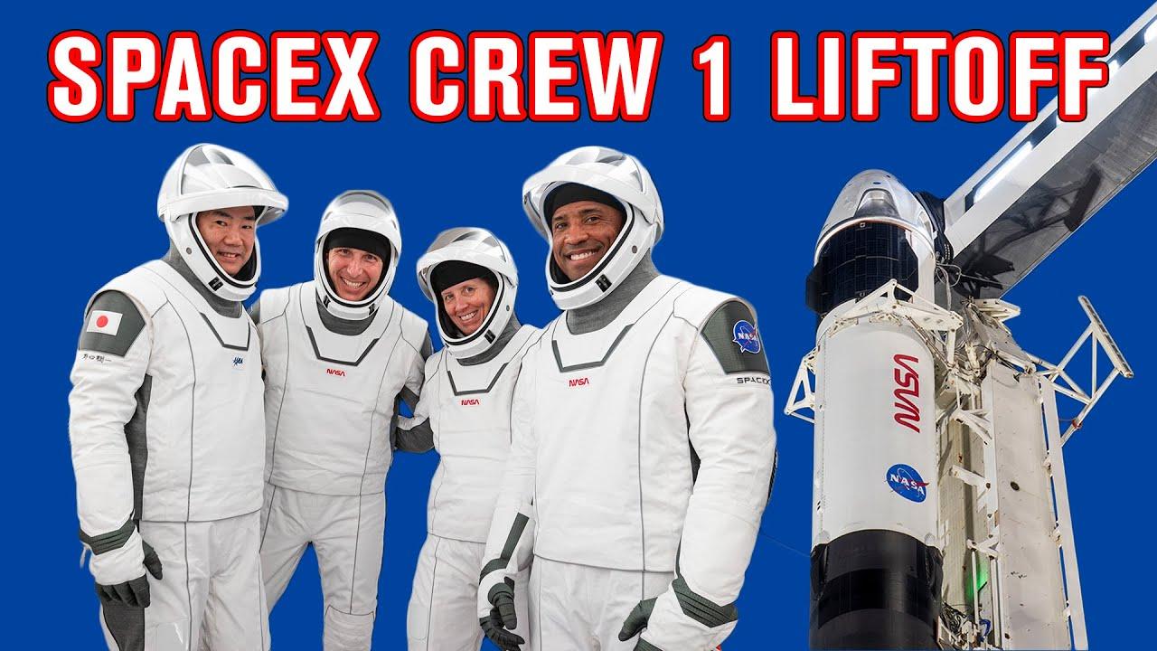 SpaceX CREW 1 Nag-LIFTOFF Na! (Tagalog)   Madam Info