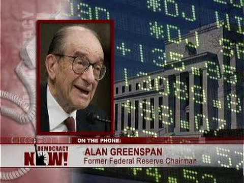 Naomi Klein vs. Alan Greenspan on Inequality