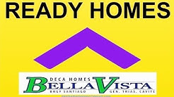 Rent To Own House In Cavite - No Down Payment Ready For  Occupancy | Deca Homes Cavite Bella Vista