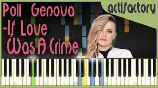 Poli Genova If Love Was A Crime Synthesia Version Actifactory