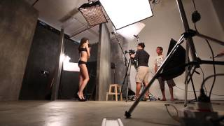 Pierre Cardin 2014 Fall Campaign Behind the Scenes