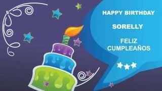 Sorelly - Card Tarjeta - Happy Birthday