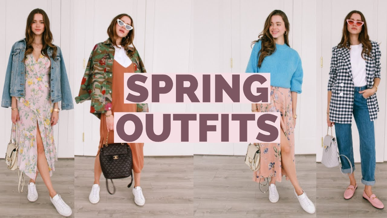 Casual Spring Outfit Ideas 2018 | Spring LookBook