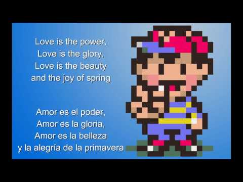 Eight Melodies Lyrics Español/English - Mother/Earthbound Beginnings OST