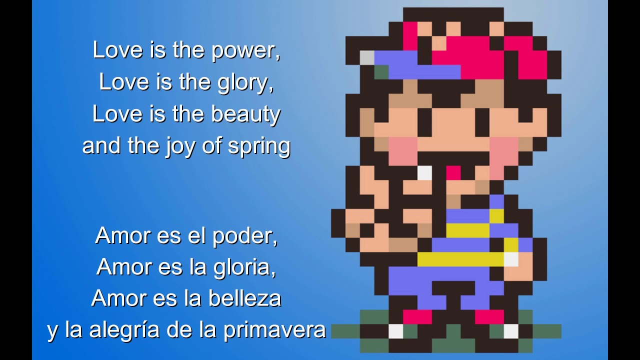 Eight Melodies Lyrics Español/English - Mother/Earthbound Beginnings OST