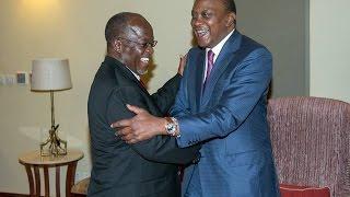 Uhuru, regional leaders at Magufuli inauguration