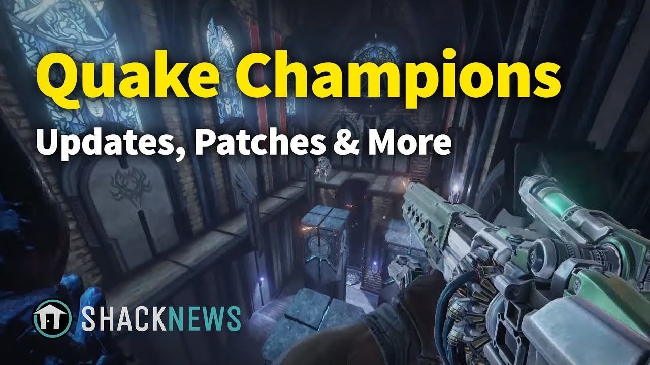 Quake Champions October Patch Update 11 10 18 adds Slipgate