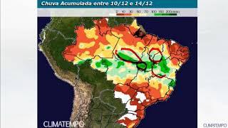 Previsão de chuvas para as regiões produtoras do Norte do Brasil