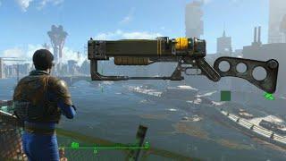 Fallout 4 Walkthrough Gameplay - Laser Rifle Cumstomization,Max Details