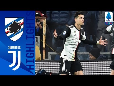 Sampdoria 1-2 Juventus | Ronaldo Header Wins It for the Visitors | Serie A TIM