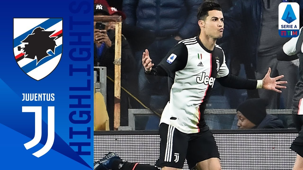 Sampdoria 1-2 Juventus | Ronaldo Header Wins It for the Visitors | Serie A TIM