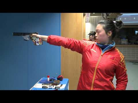 Interview of Yuan Jing at the Munich 2013 ISSF World Cup