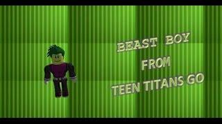 So lassen Sie Ihren ROBLOX-Charakter aussehen: Beast Boy von TTG