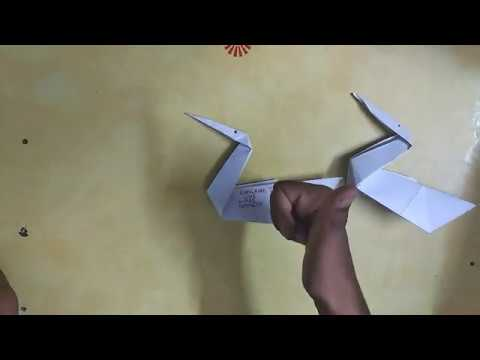How to make origami swan #Origami this