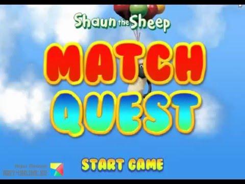 Игра Барашек Шон лысая полоса онлайн Shaun the sheep