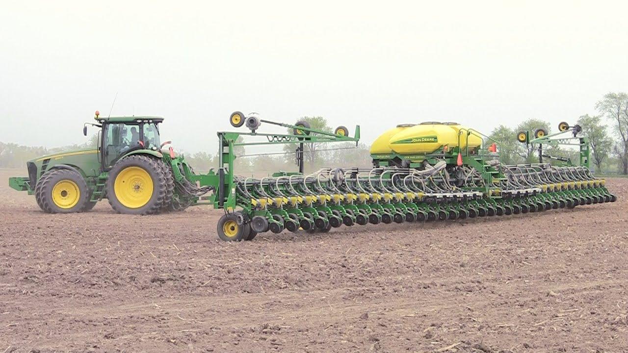 Pitstick Farms John Deere Db90 Planter Youtube