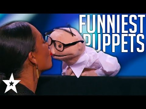BEST And FUNNIEST PUPPET Auditions On Got Talent Around The World! | Got Talent Global