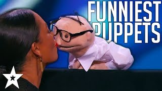 BEST And FUNNIEST PUPPET Auditions On Got Talent Around The ...