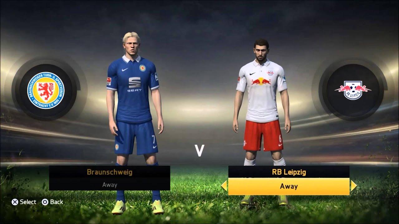 Fifa 15 Career Mode Redbull Leipzig Episode 1 Signing