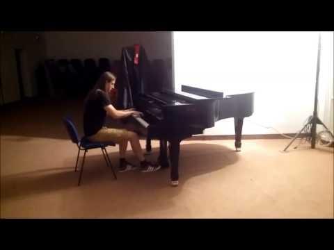 Nightwish - Alpenglow (practicing - Dean Kopri)