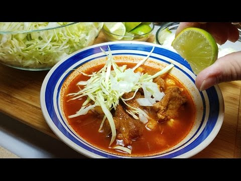 Pozole Rojo Recipe - How To Make Red Pozole