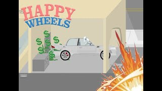 El robo al banco-Happy Wheels #02