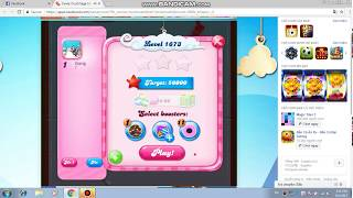 Candy Crush Saga level 1673! NO BOOSTERS