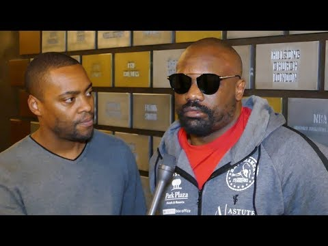 Dereck Chisora EXCLUSIVE After KNOCKOUT LOSS vs Dillian Whyte