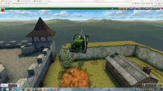Tanki online-parkour level 3[№9]