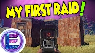 MY FIRST RAID ! - A new home - Adventure Time - Rust Survival #2