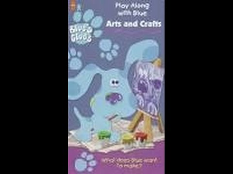 Opening to Blue's Clues Arts and Crafts 1998 VHS - YouTube - photo#8