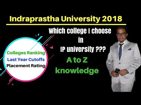 IPU Cutoffs | Colleges Ranking & Rating for B.Tech  || By Counselling Guruji ||