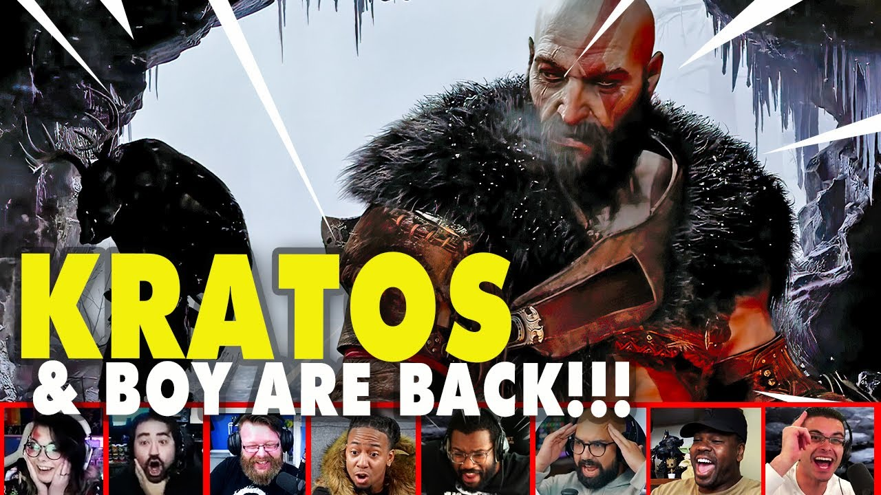 Gamers Reaction To The God of War Ragnarok PlayStation Showcase 2021 Reveal | Mixed Reactions