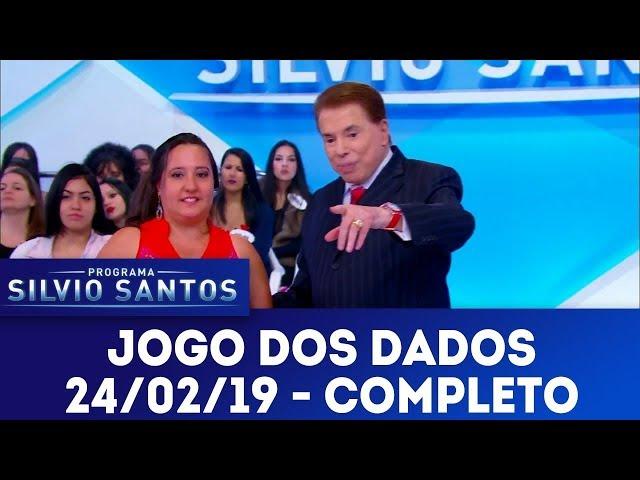 Jogo dos Dados - Completo | Programa Silvio Santos (24/02/19)