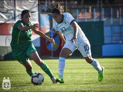 #LigaSudamericana Fúbol Femenino: Los goles de Argentina 5 - Bolivia 0