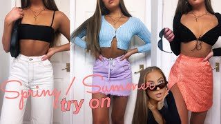 SUMMER try on HAUL 2020 - nasty gal, asos, motel rocks and missguided!
