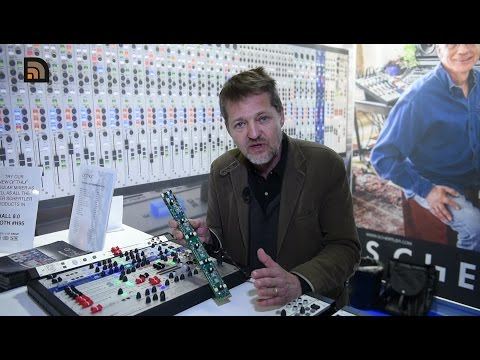 Musikmesse 2017 - Schertler Arthur modulares Mischpult