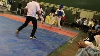 TAEKWONDO FIGHT SHAYAN ALI VS SUKKUR KA BASHINDA TRAILS | 14-OCT-2018