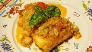 70 - Baccalà coi porri..e nessuno fa lo gnorri! (secondo piatto a base di pesce facile e sfizioso)