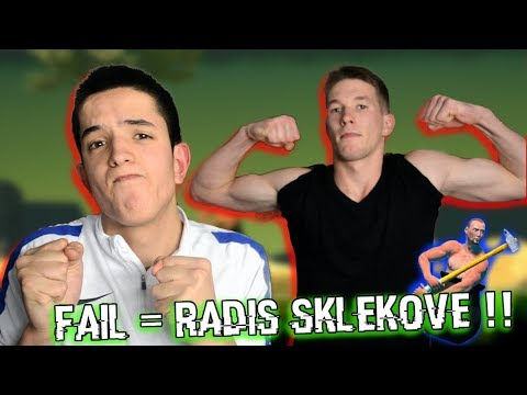 FAILUJES = RADIS SKLEKOVE! GETTING OVER IT CHALLENGE !! - YouTube