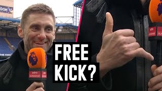Whose shot really cause this to Robert Green's finger? | Astro SuperSport