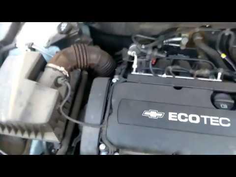 Работа двигателя Chevrolet Cruze 1.8, нормальные звуки или стрем?