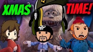Super Best Friends Play Christmas Games!