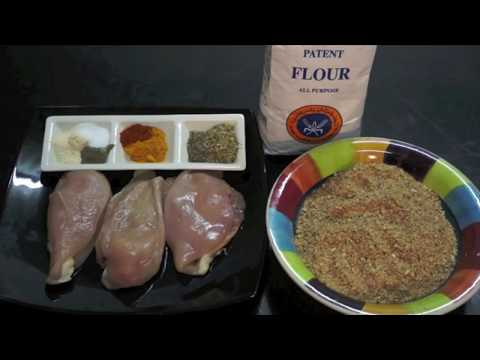 Chicken Escalopes Recipe - Crispy Fried Chicken