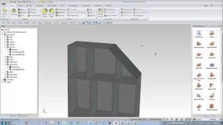 Ironcad Woodlab Cad - Cabinet Met Schuine Hoek - Nederlands