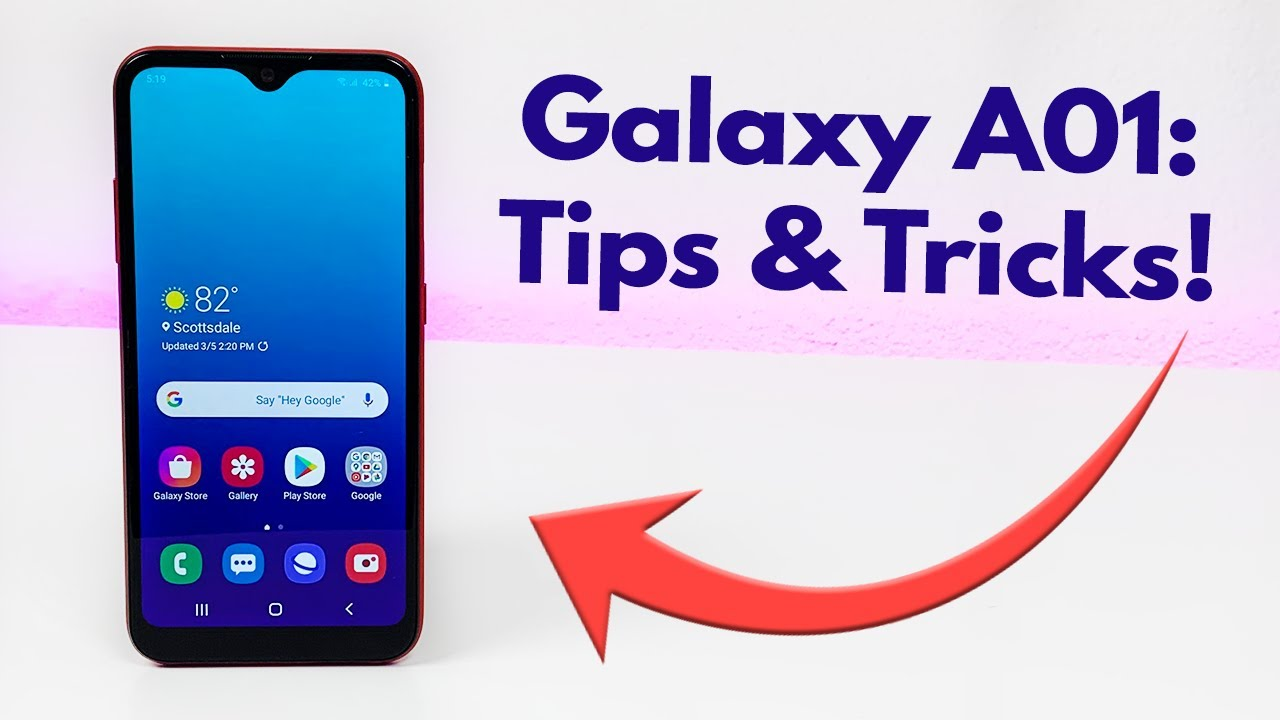 Samsung Galaxy A01 Tips And Tricks Hidden Features Youtube